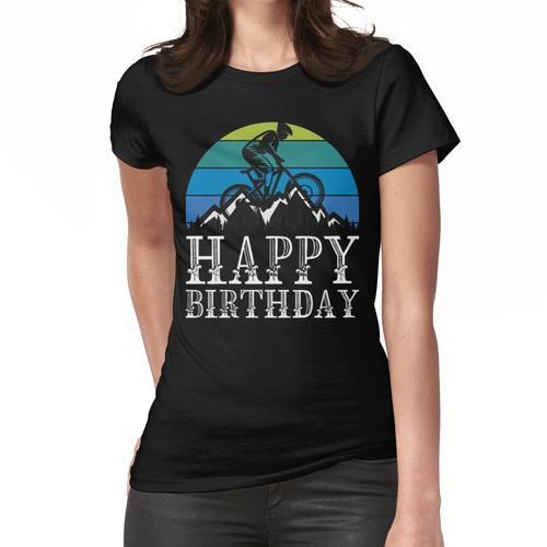 Alles Gute zum Geburtstag Fahrrad Frauen T-Shirt