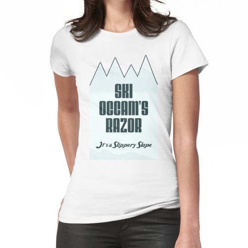 Ski Ockhams Rasiermesser Frauen T-Shirt