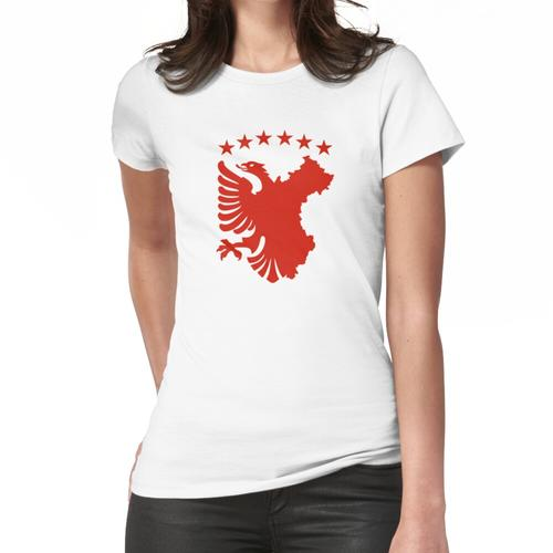 Shqipe - Autochthonous Flag Frauen T-Shirt