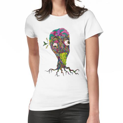 Nikotinfarbe Frauen T-Shirt
