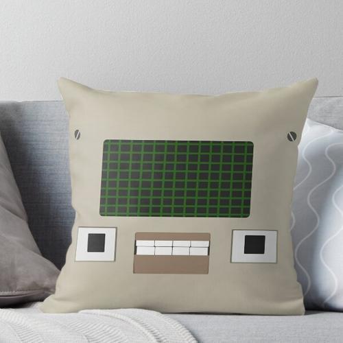 Ein Computer-Typ Kissen