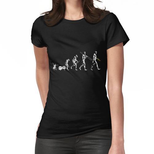 Trompete Evolution - kein Slogan Frauen T-Shirt