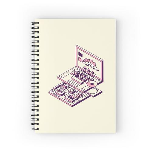 Laptop und Motherboard Spiralblöcke