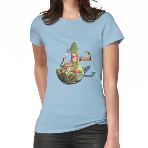Gurkensalat Frauen T-Shirt