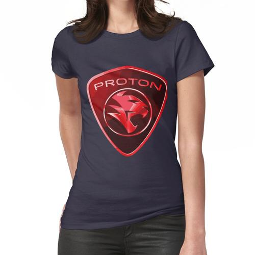 Protonenmacht - Red Proton Car Badge Frauen T-Shirt