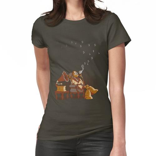 Der Audiophile Frauen T-Shirt