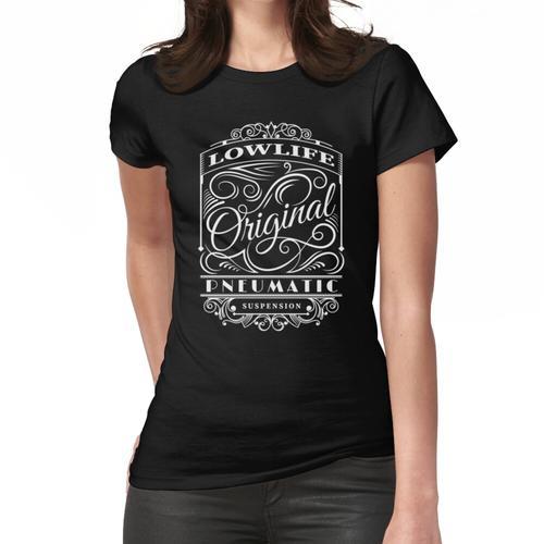 Vintage Pneumatik Frauen T-Shirt