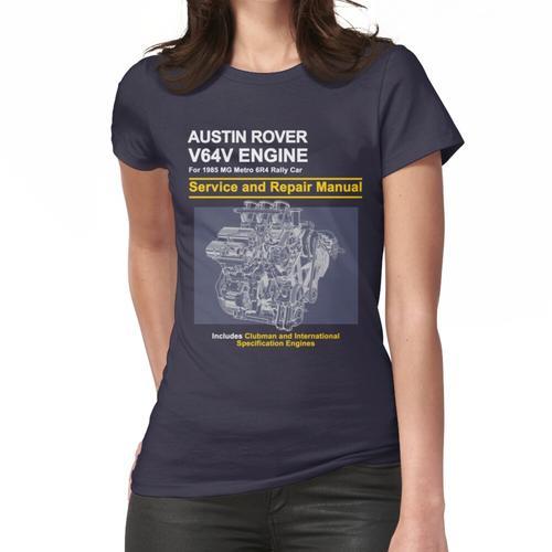 Metro 6R4 - V64V Reparaturanleitung # 2 Frauen T-Shirt
