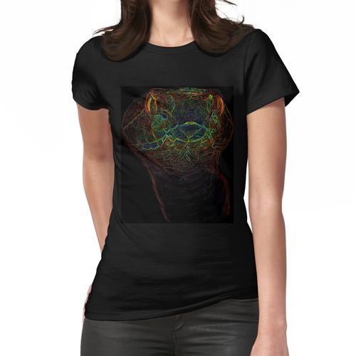 Kupfer verkabelt Frauen T-Shirt