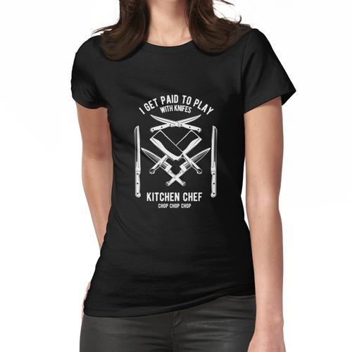 Koch - Koch T-Shirt - Chefkoch - Messer - Lustig Frauen T-Shirt