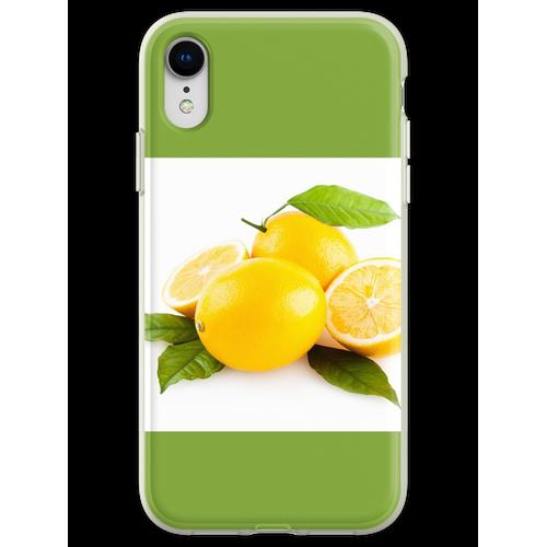 Zitronen, Zitronen, Zitronen Flexible Hülle für iPhone XR