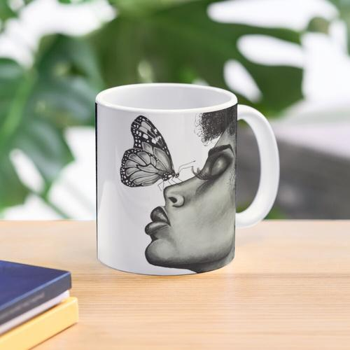 Butterfly Kisses Tasse