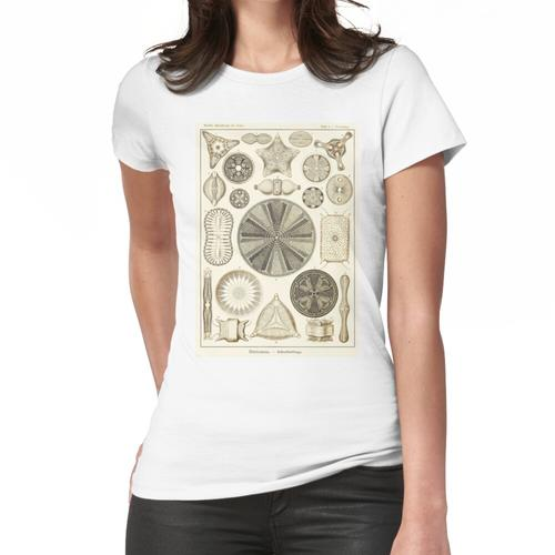 Tafel 04. Kieselalgen, mikroskopisch kleine Meerestiere. Frauen T-Shirt
