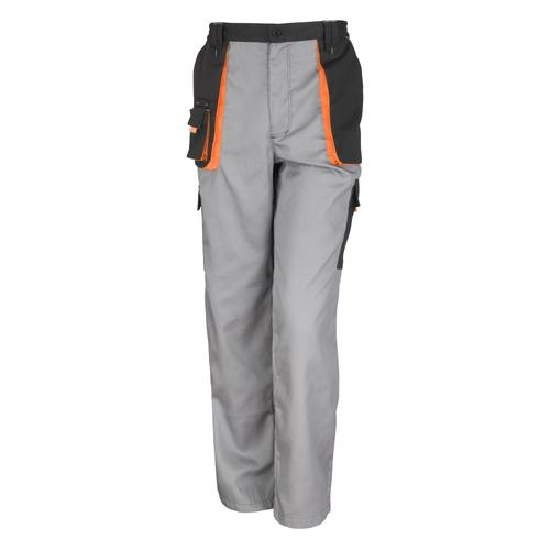 Result Funktionshose Unisex Work-Guard Lite Arbeitshosen (Atmungsaktiv und Winddicht) grau Herren Trekkinghosen Outdoorhosen Hosen