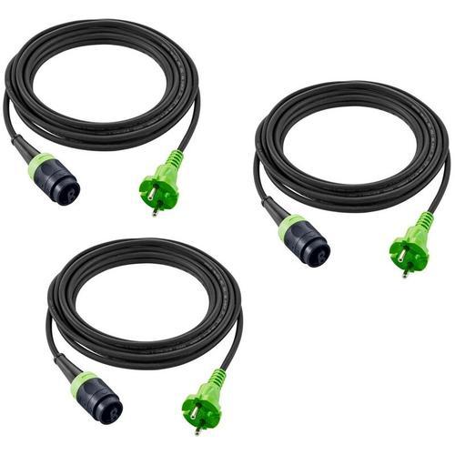 plug it-Kabel H05 RN-F4/3 Gummikabel 240 V 203935 (499851) 3 Stück - Festool