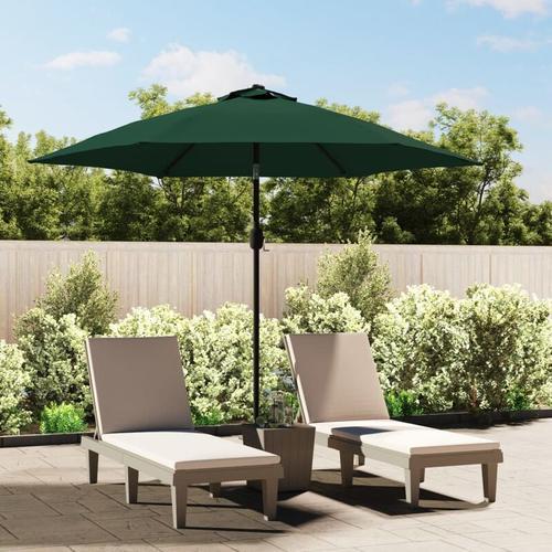 Vidaxl - Sonnenschirm Gartenschirm Strandschirm Sonnenschutz Grün