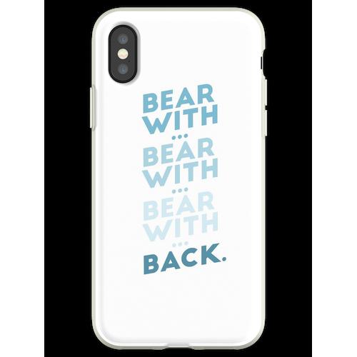 tragen mit ... tragen mit ... v.2 Flexible Hülle für iPhone XS