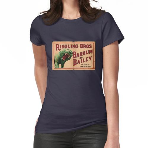 aufrollen Frauen T-Shirt