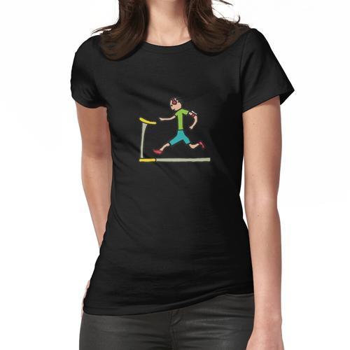 Laufband-Laufmaschine Frauen T-Shirt