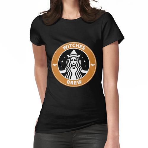 Hexen gebraut Kaffee Frauen T-Shirt