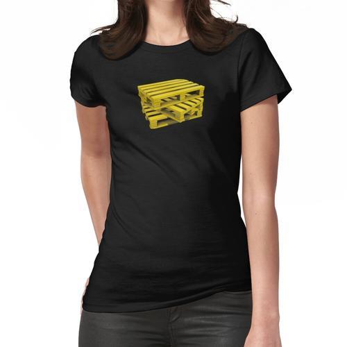 Wood Pallets Frauen T-Shirt