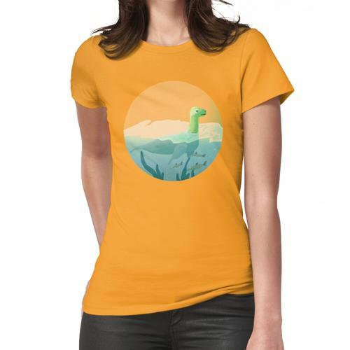 Krypta-Aquarium: Ozeankugel Frauen T-Shirt