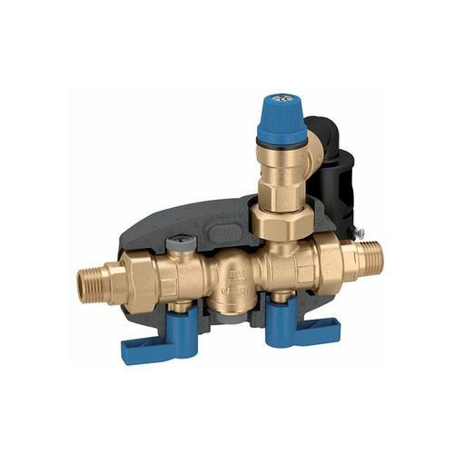 Sicherheitsgruppe DN20 8 bar Warmwasser Bereiter Warmwasserspeicher DVGW - Caleffi