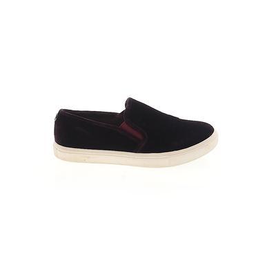 Steve Madden Flats: Burgundy Solid Shoes - Size 7