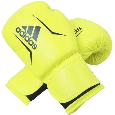 adidas Speed 50 Boxing Gloves Yellow/Blue