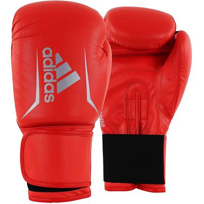 adidas Speed 50 Boxing Gloves Red/Silver