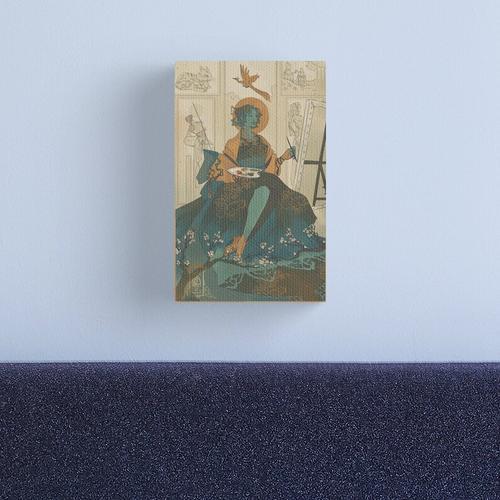 Jester 01 Canvas Print