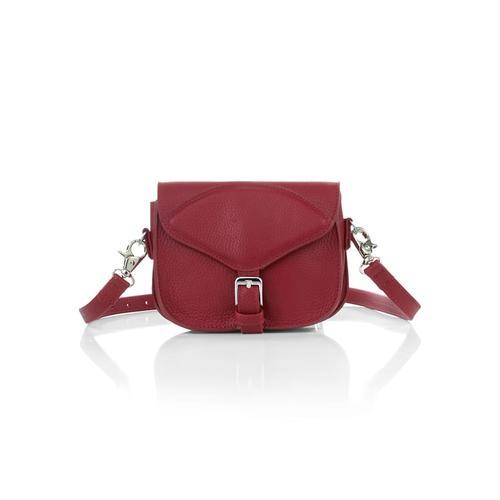 Alba Moda, Tasche in 3 Varianten tragbar, rot