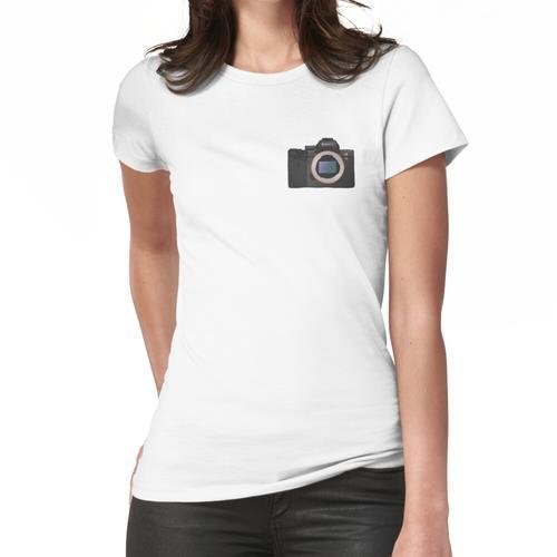 Sony a7iii Hand gezeichnete Figur Frauen T-Shirt