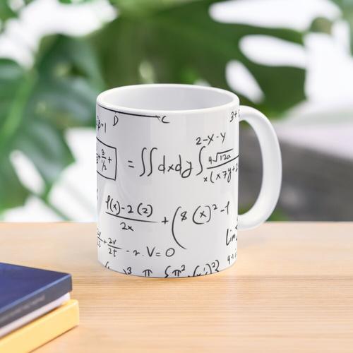 Mathematik Mathematische Aufgaben | Mathe-Genie Tasse