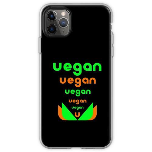 Veganer veganer Veganer Flexible Hülle für iPhone 11 Pro Max