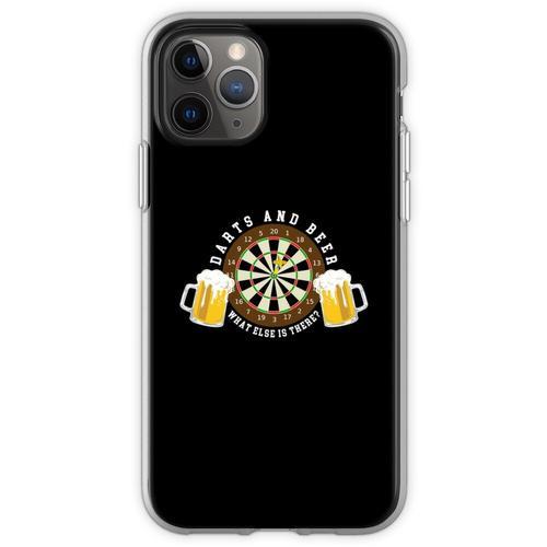 Darts and Beer - Dartscheibe Turnier Sport Spass Flexible Hülle für iPhone 11 Pro