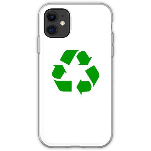 Recycling Recycling-Logo Flexible Hülle für iPhone 11