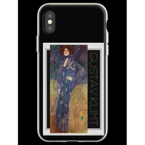 Jugendstil Jugendstil von Gustav Klimt Flexible Hülle für iPhone XS