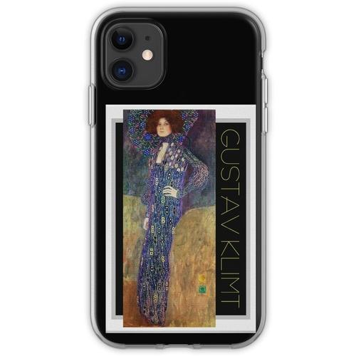 Jugendstil Jugendstil von Gustav Klimt Flexible Hülle für iPhone 11