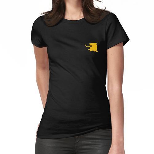 Vlaams Leeuwenhoofd [geel] Frauen T-Shirt