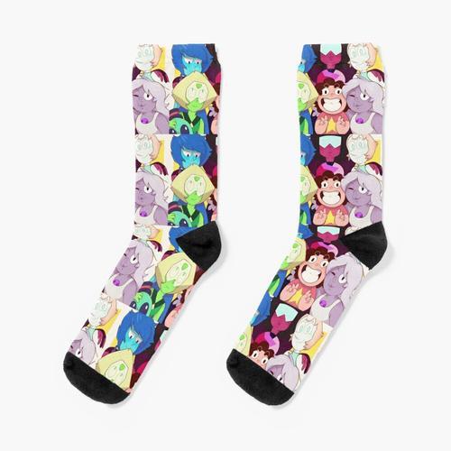 Die Kristalledelsteine Socken