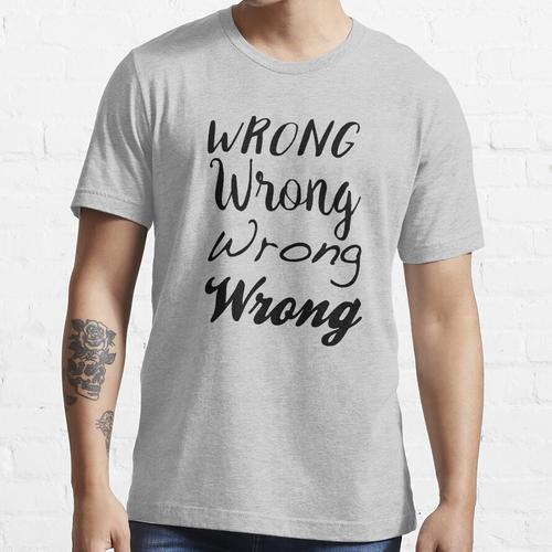 Sherlock - Falsch, Falsch, Falsch, Falsch Essential T-Shirt
