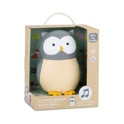 The Musical Animals - Colette the Owl grau/weiß