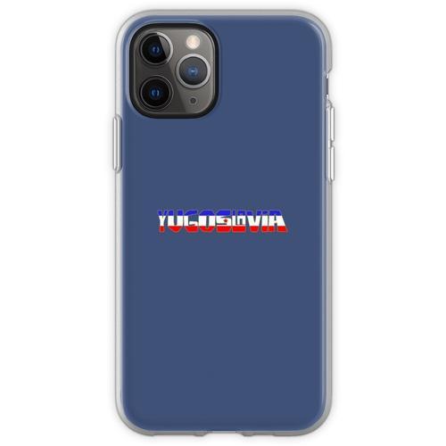 Ex Jugoslawien - Jugoslawien Flexible Hülle für iPhone 11 Pro