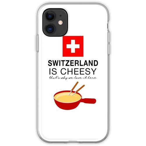 Schweizer Fondue Flexible Hülle für iPhone 11