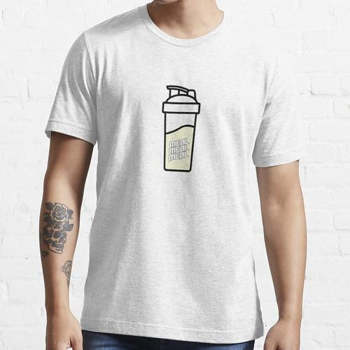 Mahlzeit Mahlzeit Mahlzeit Soylent / Mahlzeit Ersatz Vanille Essential T-Shirt