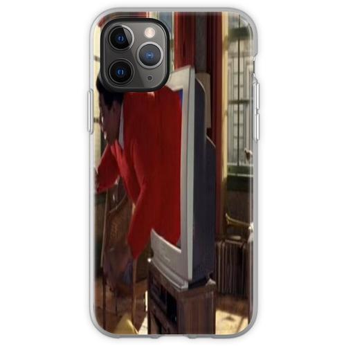 Fat Albert steckte in einem Fernseher Flexible Hülle für iPhone 11 Pro