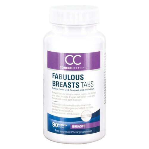Bust natürlich vergrößern mit Fabulous Breast Tabletten - 90 Tabletten