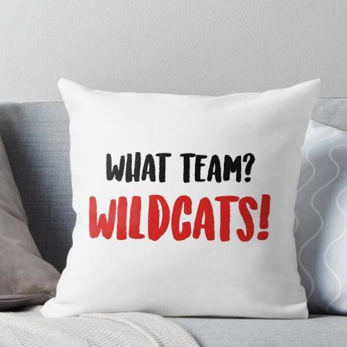 Welches Team? Wildkatzen! Kissen