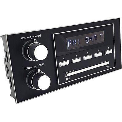 RetroSound New York M4 1.5 DIN Direct Fit Media Receiver